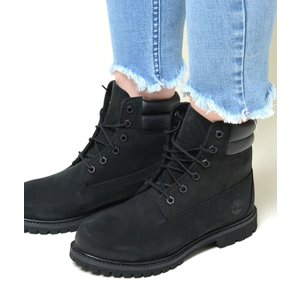 Timberland Waterville 6 In Waterproof boot  ティンバーランド ウォーター ビル 6インチ ウォータープルーフ ブーツ ブラック レディース tb0a15qy|eco-styles-honey