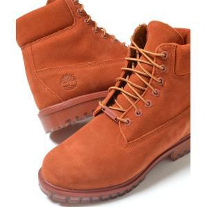 Timberland 6INCH PREM SDE BOOT  ティンバーランド 6インチ プレミアム スエード ブーツ ブラウン メンズ tb0a18po eco-styles-honey