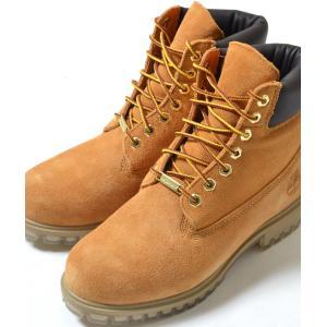 Timberland 6INPREM BOOT SUEDE WHEAT ティンバーランド 6インチ プレミアムブーツ スウェード ブラウン メンズ ブーツ|eco-styles-honey