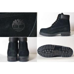 Timberland 6INPREM BOOT SUEDE WHEAT ティンバーランド 6インチ プレミアムブーツ スウェード ブラック メンズ ブーツ eco-styles-honey 02