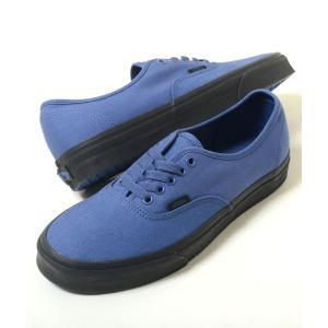 VANS AUTHENTIC バンズ オーセンティック キャンバス ブルー メンズ スニーカー vn0a38emqs9|eco-styles-honey