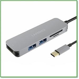 動画紹介 TypeCハブ HDMIポート SD microSD 高速USB3.0 超スリムアルミ製 0005|eco2