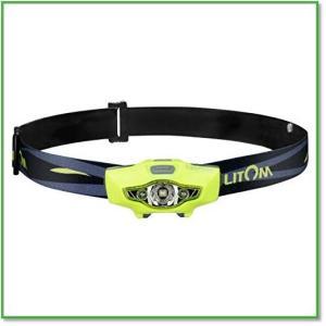 LEDヘッドライト スポットライト100ルーメン 実用点灯8時間 防水仕様 6つの点灯モード サイクリング 0021|eco2