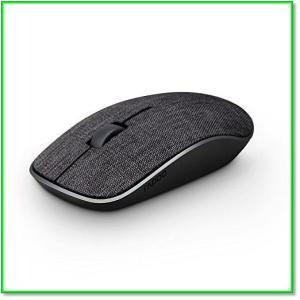 動画紹介 布製ワイヤレスマウス無線マウス2.4GHz光学式3ボタン高精度コンパクト持ち運び便利 ブラック  0097|eco2