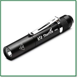 ペンライト ミニ懐中電灯 110ルーメン三モード調光可能 IPX8防水仕様単4電池対応 0195|eco2