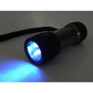 UV-LED 紫外線LED 375nm 3灯使用ブラックライトハンドライト 0198|eco2