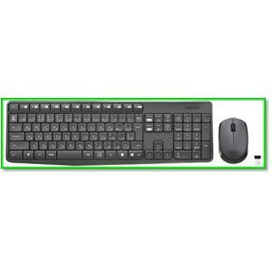 Logicoolロジクールワイヤレスマウス・耐水設計キーボードセットMK235 0565|eco2