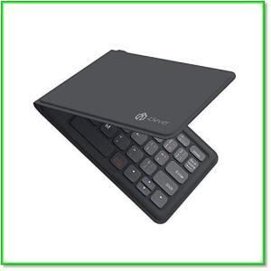 Bluetoothキーボード折りたたみ式レザー調折れないUSB薄型IOS Android Windows 0572|eco2