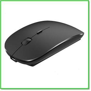 ワイヤレスマウス静音薄型充電式3DPIモード2.4GHz光学式高感度USBWindowsMac対応 0573|eco2