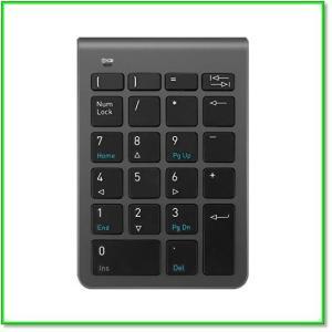 ワイヤレステンキーミニテンキーパッド2.4G22キーiMacMacBooks小型 軽量 高感度 0577|eco2