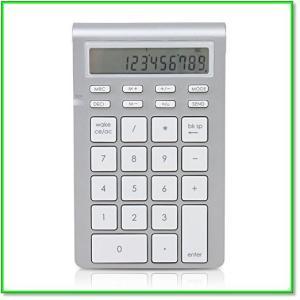 ワイヤレススマートテンキー26キー電卓モード付Mac,Windows対応 0578|eco2