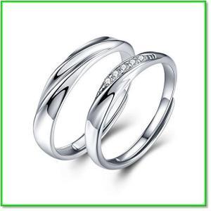 <愛の言葉>ペアリング 純銀製指輪レディースリングメンズリング結婚指輪 婚約指輪 フリーサイズ 0662|eco2