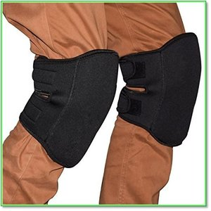 Yamay膝当て ひざあて 膝パッドニーパッド膝プロテクター作業用2個入りブラック 0781|eco2