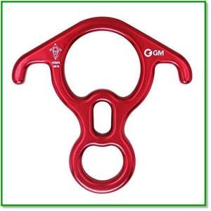GMCLIMBING40kNレスキューフィギュアエイト環ディセンダーデバイスベントイア大きめ 1317|eco2