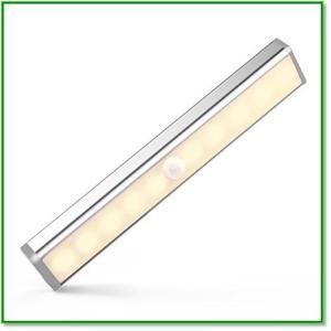 足元灯 センサーライト LED 人感センサー 乾電池式 省エネ マグネット付き 階段 玄関 自動点灯消灯 1362 eco2