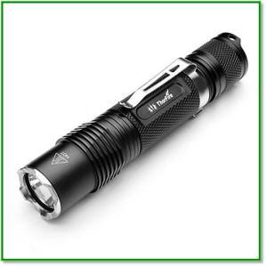 LED懐中電灯 超高輝度ハンディライト IPX8防水 1070ルーメン200Mまで直射可能  1367 eco2