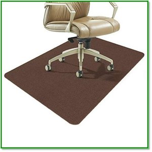 チェアマット ずれない フローリング 床保護マット 傷防止 滑り止め丸洗い可能カット可能 吸音140x90cm 1435|eco2