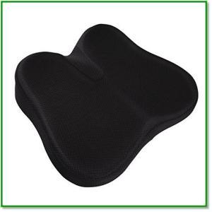 座布団低反発クッション健康クッション腰楽体圧分散座り心地抜群椅子車用オフィス自宅用 1440|eco2