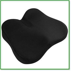 クッション座布団低反発クッションオフィスチェア椅子車用座り心地抜群カバー洗える通気性 1442|eco2
