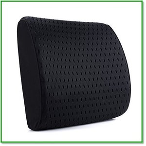 腰痛クッション車腰痛クッション3D立体カバー風通しの良いランバーサポート腰痛対策背当て背もたれ健康クッション 1443|eco2
