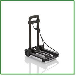 キャリーカート 折りたたみ軽量 コンパクト 簡易型 ブラック 1520|eco2