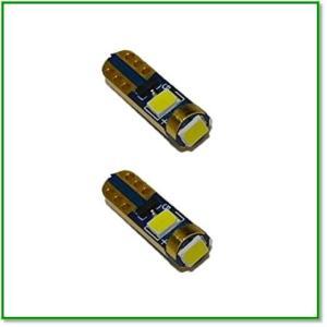 12V専用 LEDウェッジバルブ T5 3030チップ3枚搭載 280ルーメン 2本セットOPDJCX659W 1610|eco2