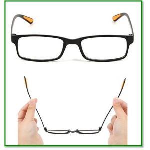 超軽量PCメガネ ブルーライトカット パソコン用眼鏡 収納ケース ミニクロス付き 男女兼用 a285 1725|eco2