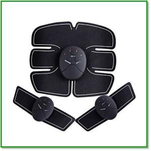 腹筋ベルト 筋トレマシン 静音 6種類モード 15段階強度 1847|eco2
