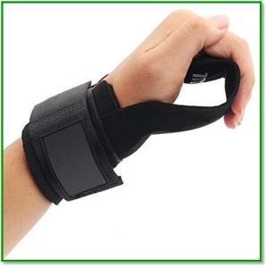 パワーグリップトレーニング 握力をサポートしてケガを予防 握力補助 筋肉を追い込むなどの機能付き リストラップ 1848|eco2