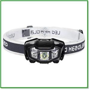 センサー式 LEDヘッドライト 明るさ320ルーメン USB充電式 ネックライト 防災用ライト 懐中電灯 2019 eco2