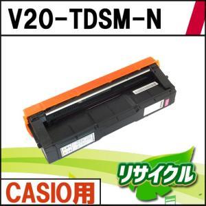 V20-TDSM-N CASIO用 マゼンタ リサイクルトナー|eco4you