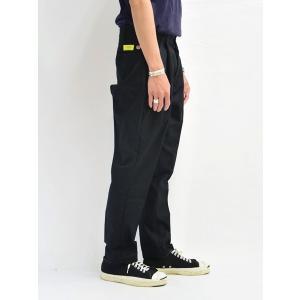 リライタブル Rewritable リメイクスタンダードパンツ ワークパンツ RED KAP シンプル 黒/ブラック メンズ REMAKE STANDARD PANTS -BLACK-|ecoandstyle|03