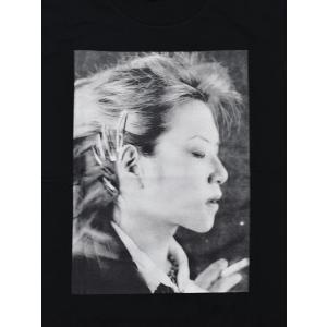 アンプリファイア Amplifier Tシャツ ティーシャツ 半袖 アーティスト フォトプリント XJAPAN ヒデ 黒 ブラック メンズ HIDE DESIGN SS TEE -BLACK- ecoandstyle 04