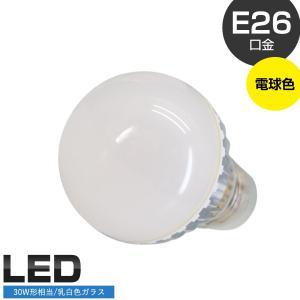 LEDランプ (暖白/口金E26/AC100-240V/6W/照射150度) PLUS◇516f03|ecoearth