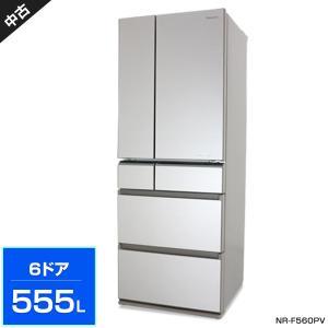 パナソニック 6ドア冷蔵庫555L (フレンチドア/シャンパンゴールド) 中古 NR-F560PV ...