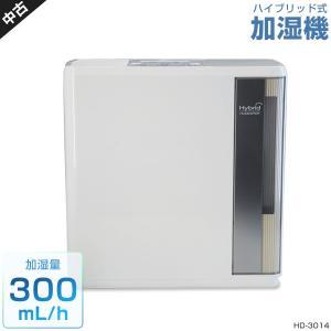 ダイニチ ハイブリッド式加湿器 (〜8畳まで/〜300mL/h) 中古 HD-3014 グレー (2...