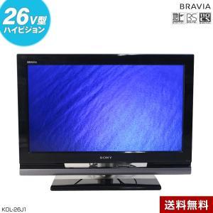 SONY 液晶テレビ BRAVIA 26V型 (ブラック/2008年製) 中古 KDL-26J1 地...