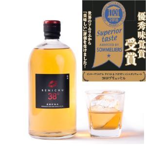 梅酒 BENICHU38°(720ml)ベニチュー  無糖 38%|ecofarmmikata