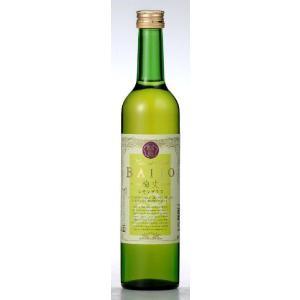 梅酒 BAIJO(梅丈)レモングラス梅酒(500ml)ハーブ入り 8%|ecofarmmikata