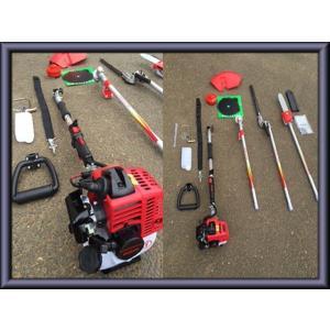 草刈機 草刈り機  バリカン 芝刈り機  ナイロンカッター チェーンソー 交換自在4点セット |ecofuture