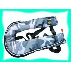 ライフジャケット ベストタイプ 手動膨張式 釣り...の商品画像