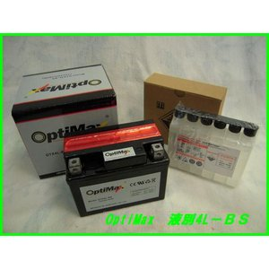 バイクバッテリー OPTIMAX  4L-BS...