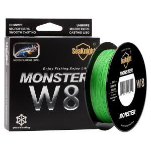 シーナイト MONSTER W8 PEライン 500m 0.8号 15LB 6.8kg ジギング 釣り フィッシング 2色 フィッシング 新品|ecofuture