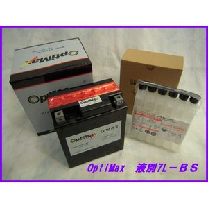 バイクバッテリー OPTIMAX 7L-BS...