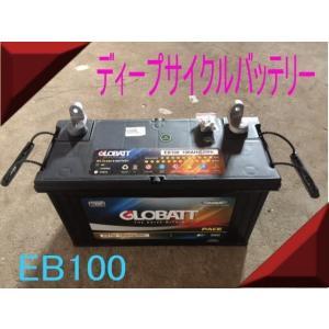 EB100 ディープ サイクル バッテリー 充電し繰り返しOK 新品 ecofuture