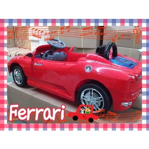 フェラーリ 乗用玩具 電動玩具 RC ラジコン レッド・ブラック |ecofuture
