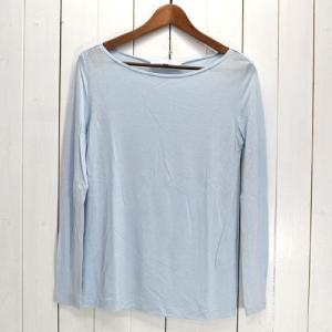 LE CIEL BLEU ルシェルブルー BOAT-NECKED JERSEY TOPS トップス カットソー|ecoikawadani