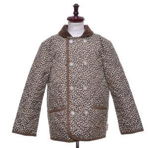 Traditional Weatherwear × beautiful people トラディショナルウェザーウェア  レオパードキルティングジャケット サイズ130|ecoikawadani