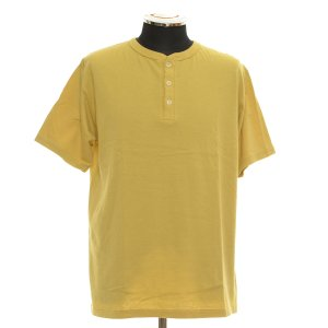 ダブルワークス DUBBLE WORKS ヘンリーネックTシャツ 半袖  サイズM 中古 古着|ecoikawadani