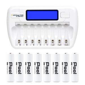 充電池 充電器 セット エネループ エネロング などの ニッケル水素電池専用 単3 セット 防災グッズ  (宅配便送料無料)|ecojiji